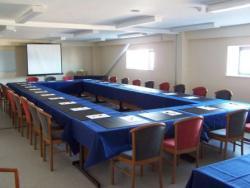 Briefing Room set up Boardroom Style