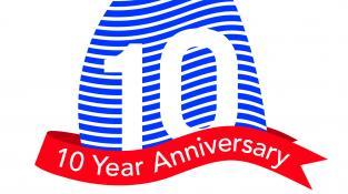 10 Year Logo © WPNSA