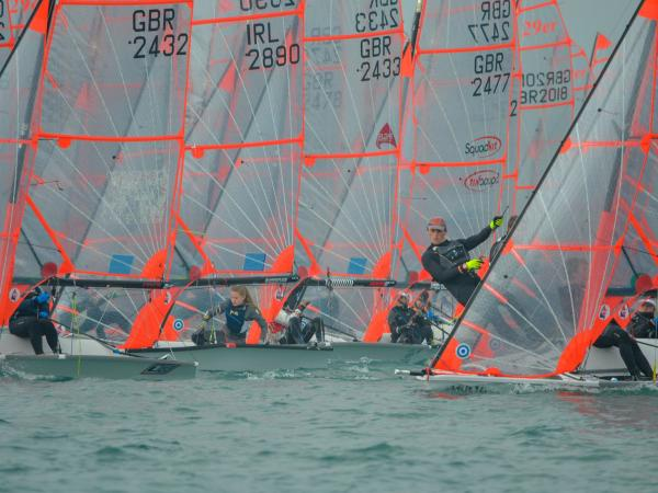 29er Fleet at RYA Youth Nationals 2019 (c) RYA