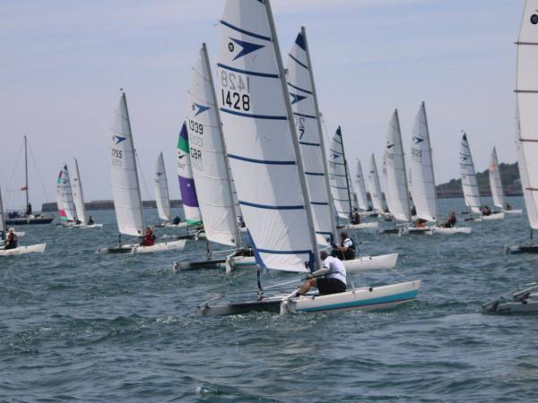 Sprint 15s Racing © UK Sprint 15 Class Association
